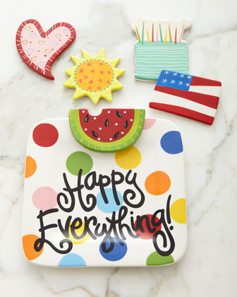 Happy Everything Bright-Dot Mini Platter & Attachments