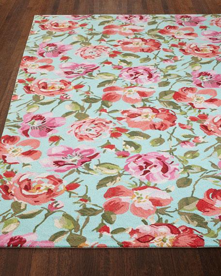 Rose Parade Rug, 10' x 14'