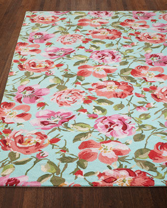 Rose Parade Rug