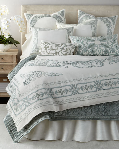 Callisto home aleksi bedding for Stores like horchow