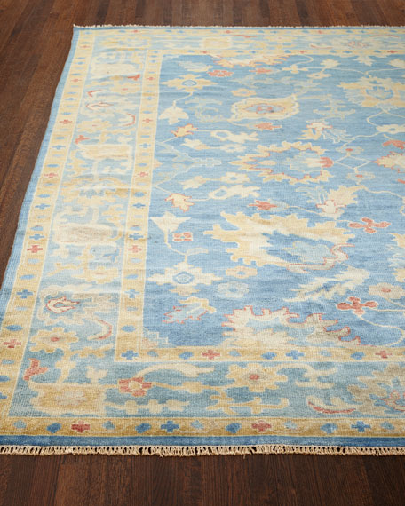 "Ribbon Blue Rug, 8'6"" x 11'6"""
