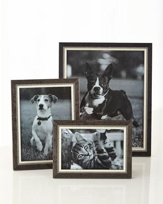 Black Tie Marquetry Frames