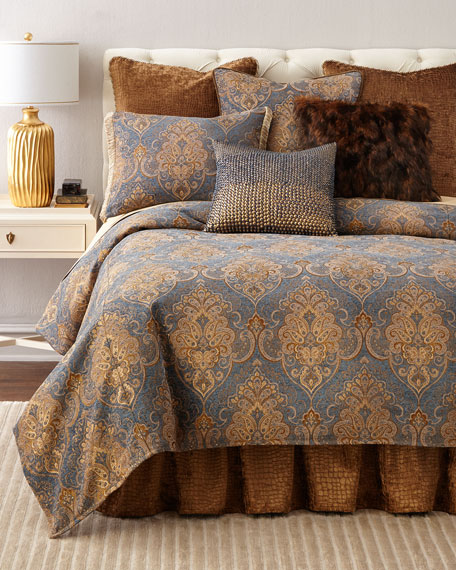 Queen Lantana Duvet Cover