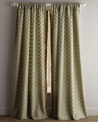 Petit Trianon Trellis Curtains