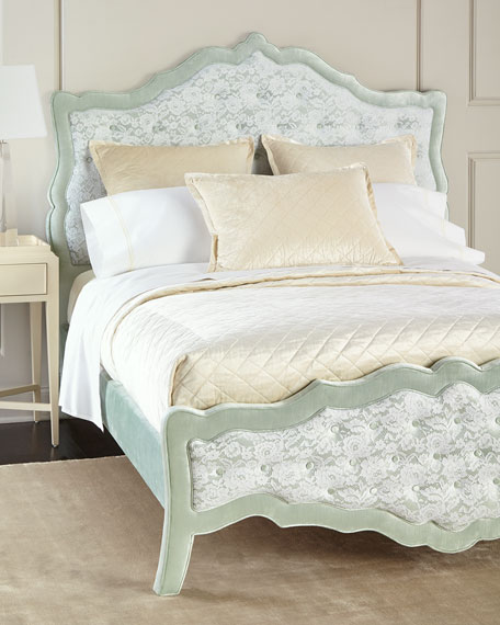 Sorbonne Tufted California King Bed