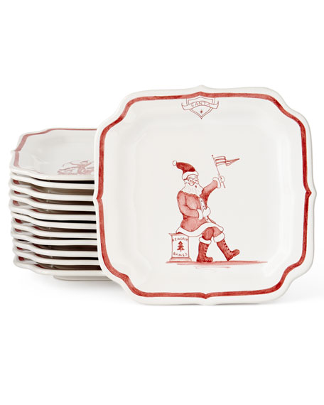 Country Estate Ruby Reindeer Games Rudolph Party Plate