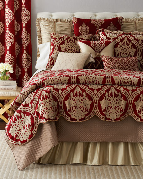 King Vienna Quilted Coverlet