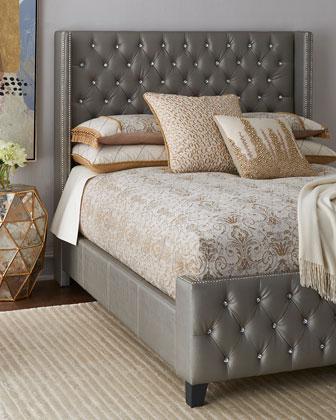 Mercedez Jeweled Beds