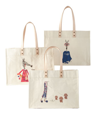 Extra-Large Personalized Totes
