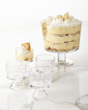 Cheers Footed Dessert Bowl & Mini Dessert Bowls