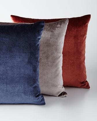 Venice Knife-Edge Jewel-Tone Pillows
