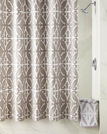 John Robshaw Khoma Shower Curtain Towels