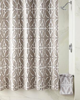 Khoma Shower Curtain & Towels