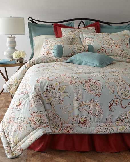 Queen Serendipity 3-Piece Comforter Set