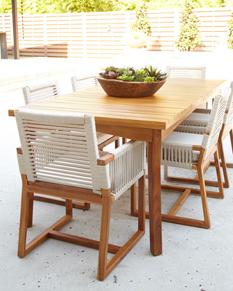 San Martin Teak Outdoor Dining Furniture