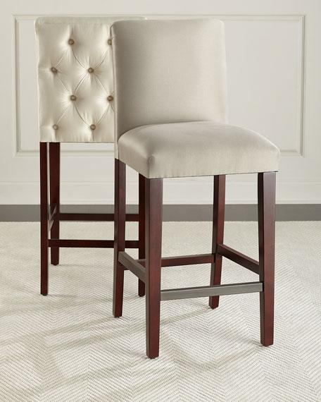 Alain Diamond-Tufted Dining Chair