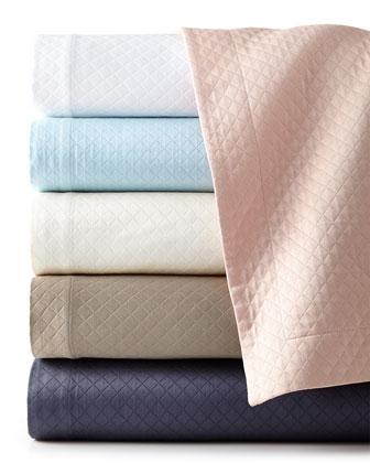 Diamond Pique Bedding