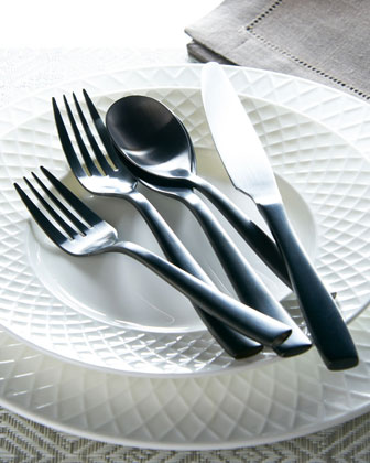 20-Piece Delano Stainless Steel Flatware Service and Matching Items