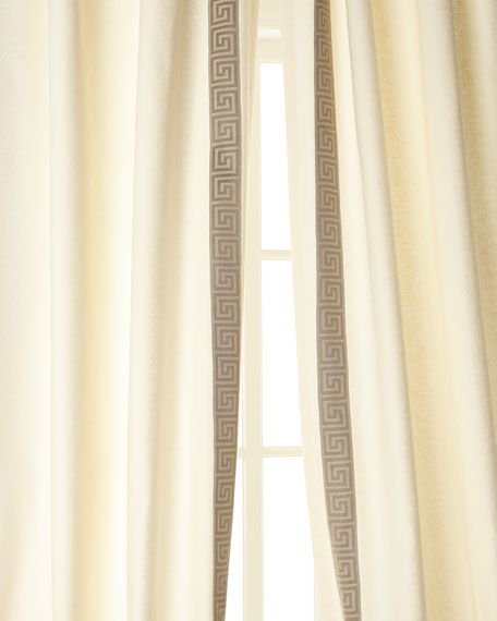 "Each 48""W x 96""L Folly Curtain - Left"