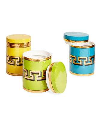 Mykonos Canisters