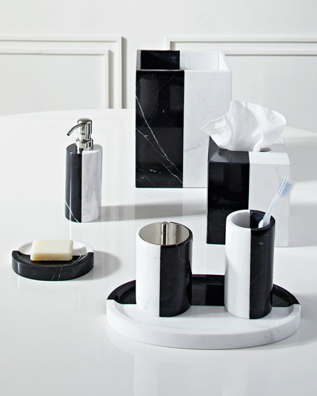 Canaan Marble Toothbrush Holder