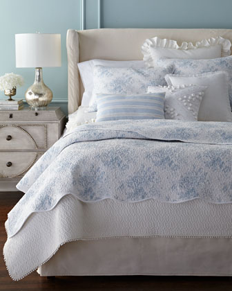 Rose Toile Bedding