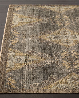 Idalee Hand-Knotted Rug, 6' x 9' and Matching Items