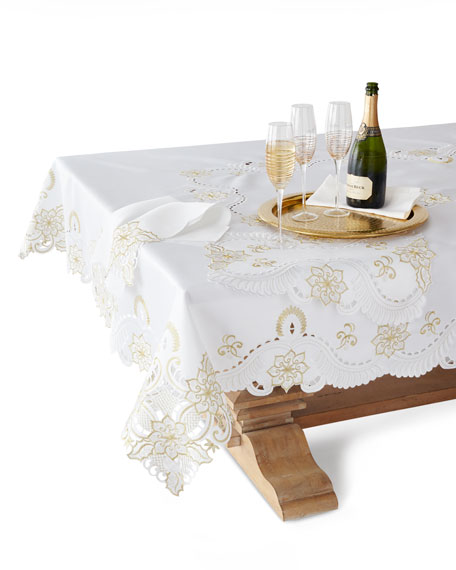 "Armina 22""Sq. Napkins, Set of 4"