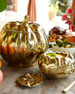 Pumpkin Soup Bowl with Lid, Set of 4
