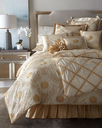 Coronado Floral Queen Comforter  and Matching Items