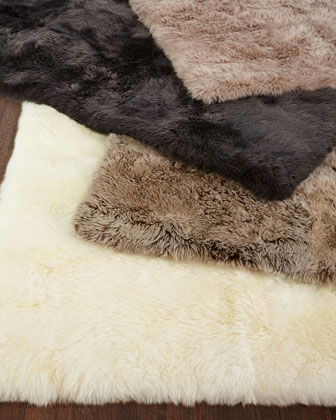 Effie Sheepskin Rug  8' x 11' and Matching Items