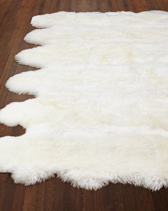 Gianna Sheepskin Rug, 8' x 11' and Matching Items