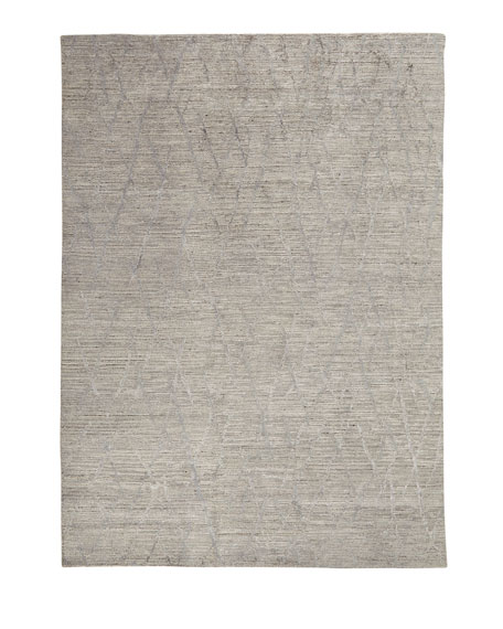 "Ling Hand-Knotted Rug, 9'9"" x 13'9"""