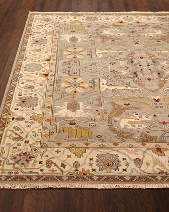 Placidio Soumak Weave Rug, 8' x 10' and Matching Items