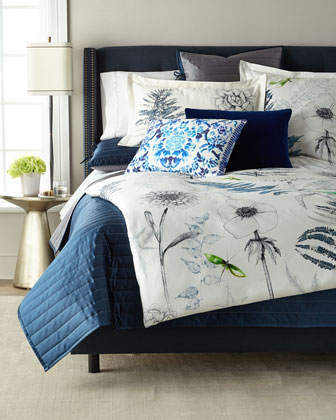 Acanthus Queen Duvet  and Matching Items