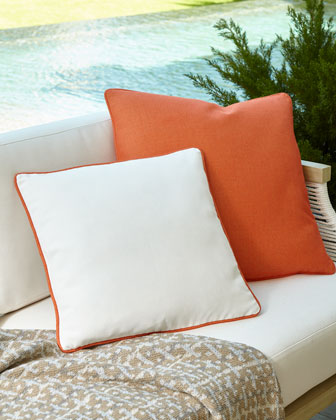 Winterthur Pillow, Orange  and Matching Items
