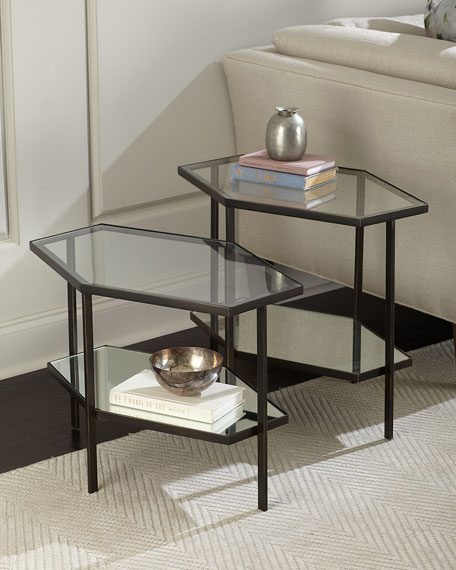 Fatima Tall Hexagon Side Table