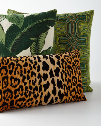 Tropics Decorative Pillow  and Matching Items