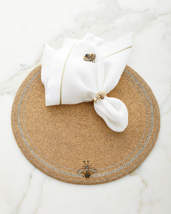 Bee Dinner Napkins  Set of 2  and Matching Items
