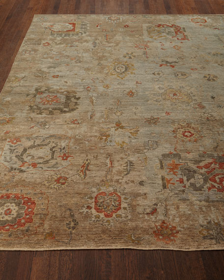 Barron Hand-Knotted Rug, 10' x 14'