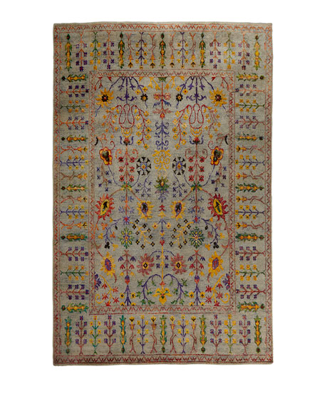 Etta Hand-Knotted Rug, 10' x 14'