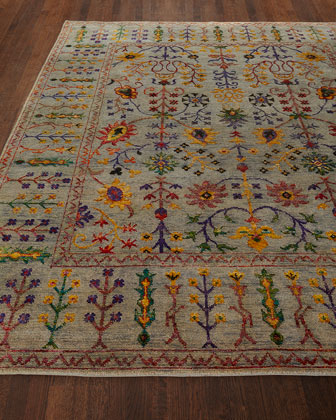 Etta Hand-Knotted Rug  8' x 10'  and Matching Items