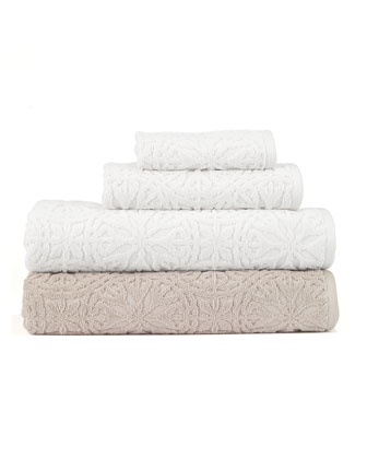 Laundry by Shelli Segal Interlock Bath Towel  and Matching Items