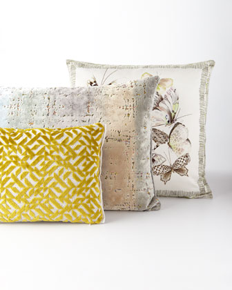 Papillons Shell Pillow  and Matching Items