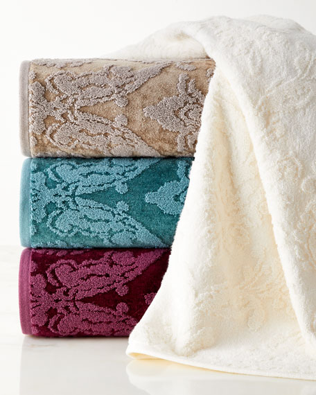 Riverside Damask Washcloth