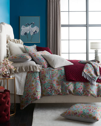 Ines Linen Twin Duvet Cover  and Matching Items