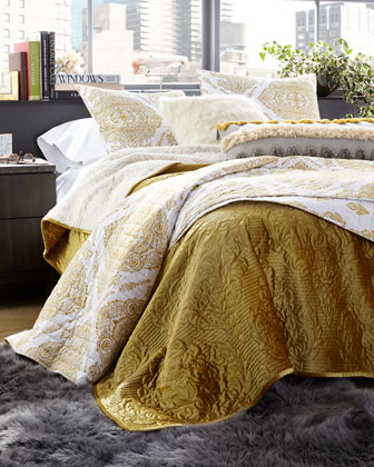 Velvet Carrington Twin Quilt  and Matching Items