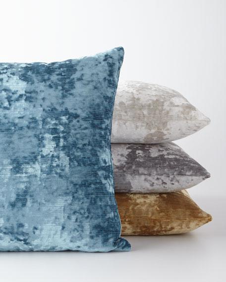 Miranda Textured Pillow, Gold