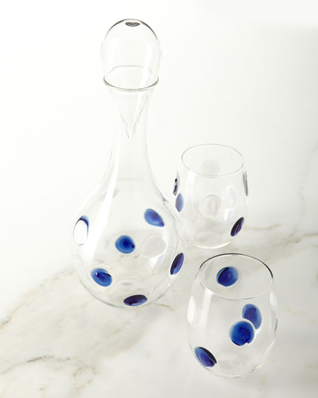 Dot Glass Decanter