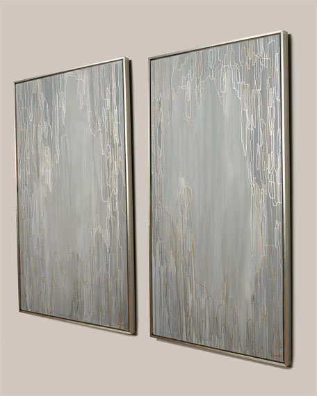 """Double Vision II"" Giclee Canvas Art by Jill Pumpelly"